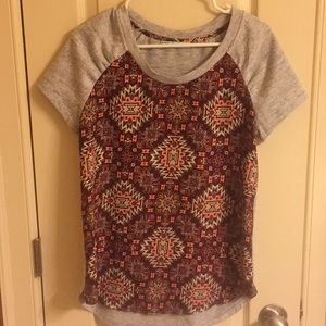 Maurices Patterned Shirt